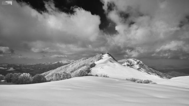 7 - Piano del laghetto, Cima Alta e il Montagnone - Marzo '21