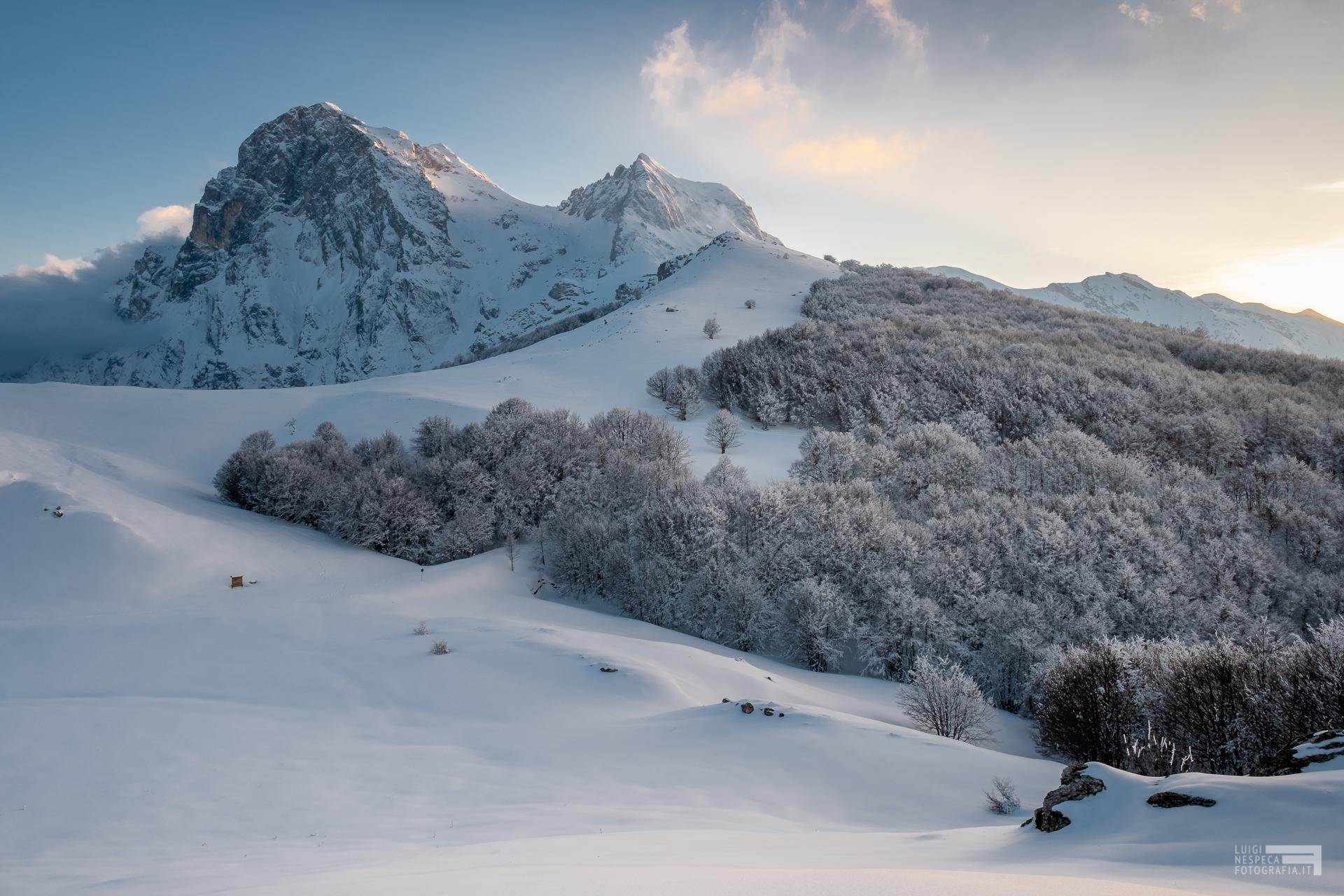 24 - Gran Sasso manto invernale - Cima Alta - Marzo '21