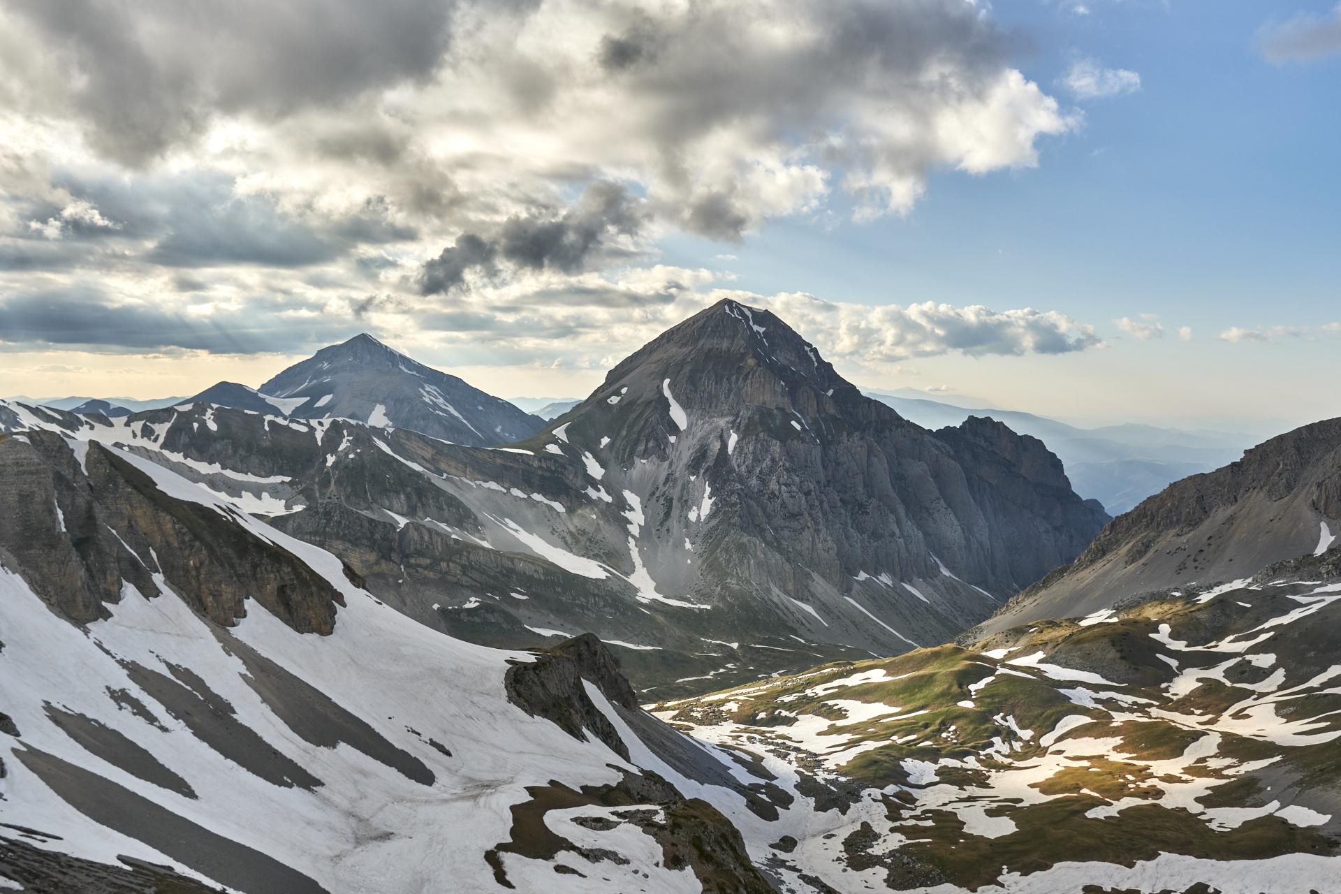 Nuvolaglia - Pizzo d'Intermesoli e Alta Val Maone - GRAN SASSO