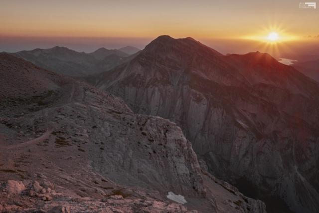 Luglio 2021 - Tramonto dalla Conca degli Invalidi - 2650 mt - GRAN SASSO