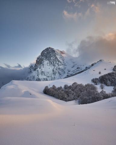 Marzo 2021 - Gran Sasso d'Italia da Cima Alta - Prati di Tivo