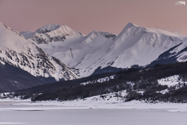Febbraio 2021 - La Val Chiarino dal Lago di Campotosto - GRAN SASSO
