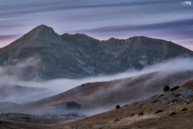 Settembre 2020 - Monte Camicia al crepuscolo - GRAN SASSO