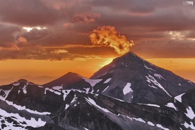 Giugno 2021 - Monte Corvo fuma come un vulcano - GRAN SASSO