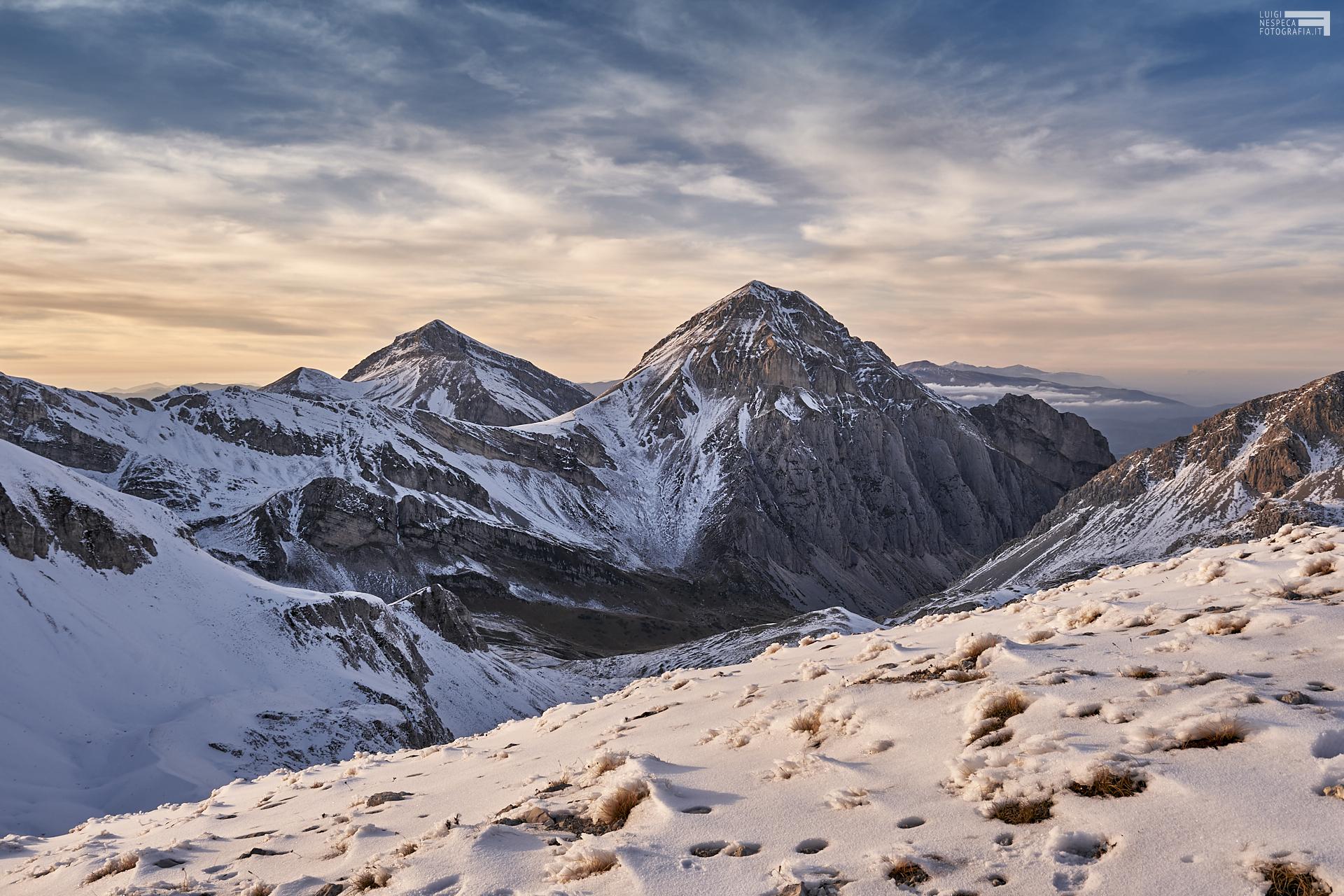 Ottobre 2020 - Prima neve sul Pizzo d'Intermesoli - GRAN SASSO