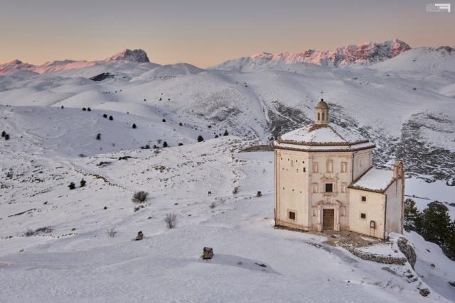 Gennaio 2021 - Santa Maria della Pietà - Rocca Calascio - GRAN SASSO