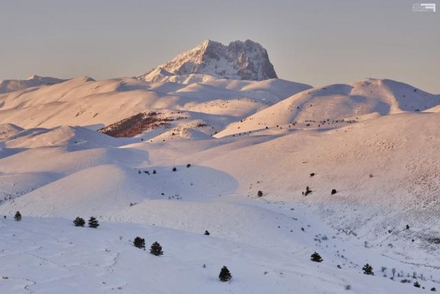 Gennaio 2021 - Corno Grande da Rocca Calascio - GRAN SASSO