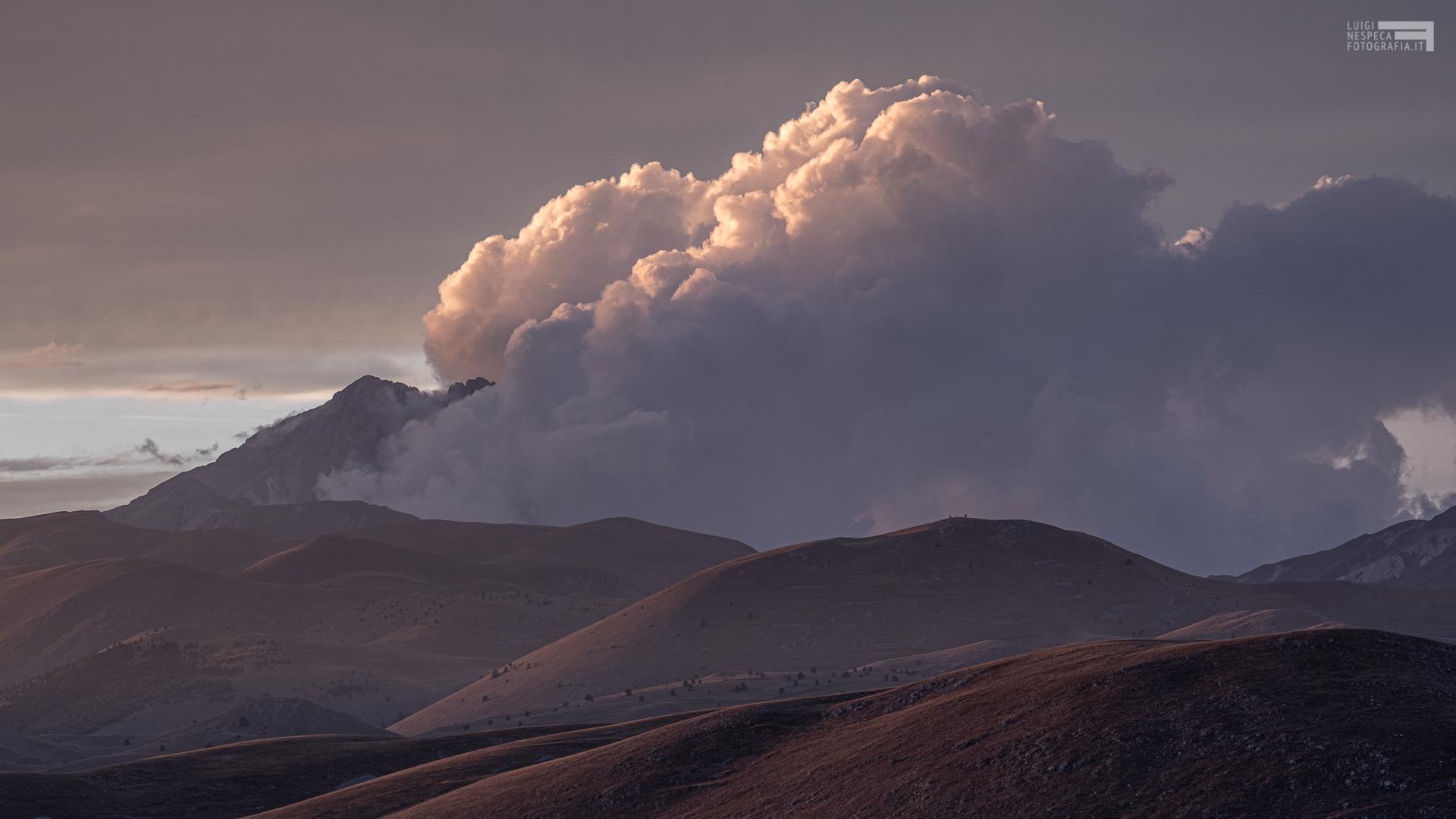Agosto 2020 - Nuvole su Campo Imperatore -GRAN SASSO