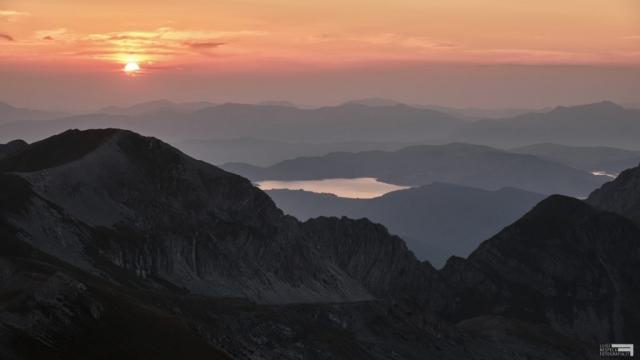 Agosto 2021 - Tramonto dalla vetta del Pizzo Cefalone
