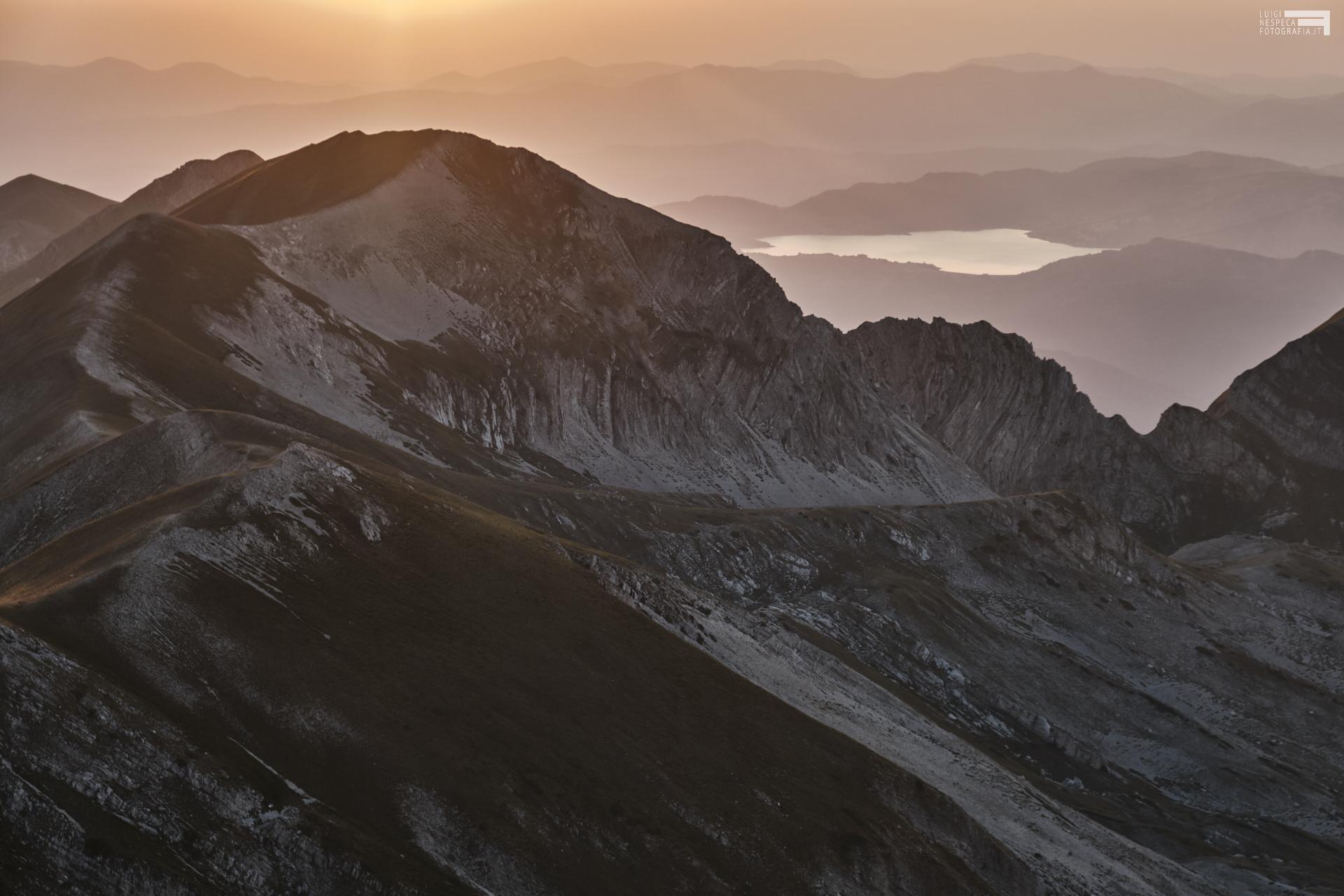 Agosto 2021 - dalla vetta del Pizzo Cefalone - Malecoste e Lago di Campotosto
